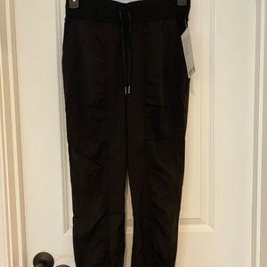 Lululemon dance studio jogger in black.